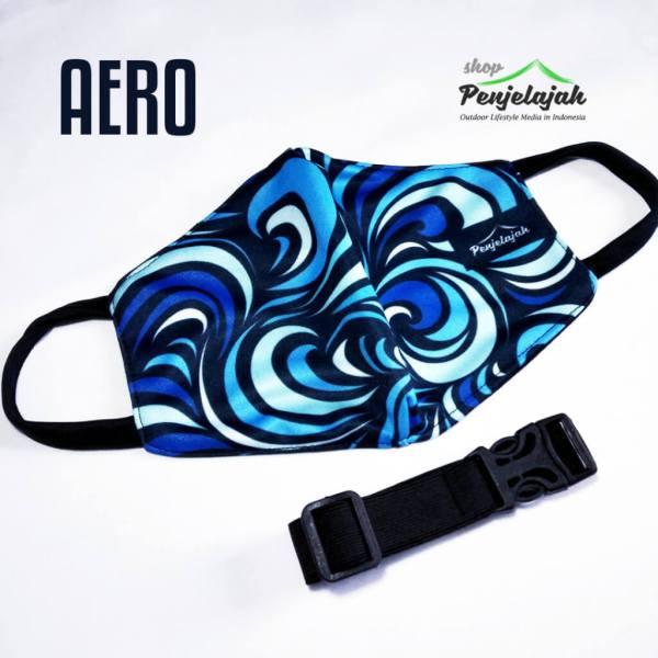 Masker Sublim Penjelajah - AERO