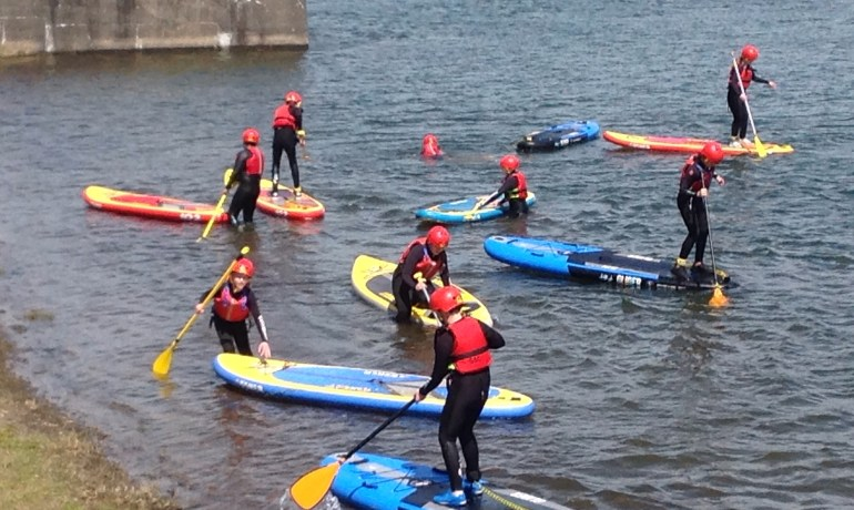 Group C - Paddle Boarding