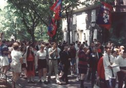 The Penn Alumni parade of classes on Alumni Day at Penn, May 15, 1993