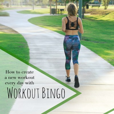A New Workout Everyday with Workout Bingo