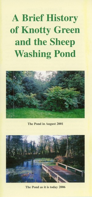 A Brief History of Knotty Gren & the Sheep Washing Pond