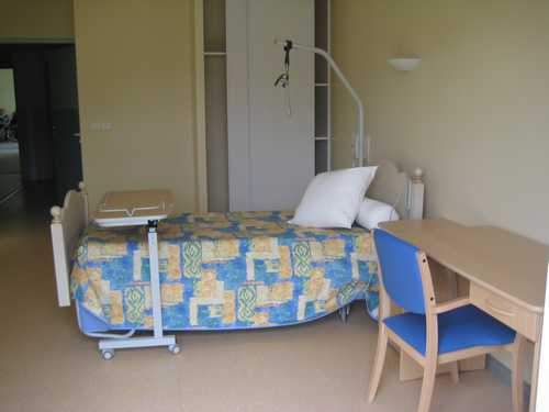 Maison de retraite- Lit chambre individuelle
