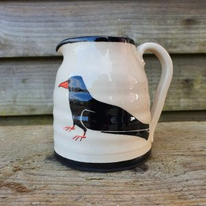 Cornish Chough Cream Jug