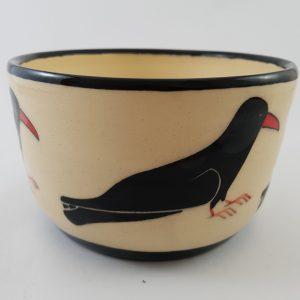 Cornish Chough Porridge/Soup Bowl