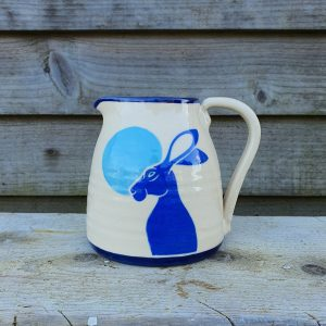 Moon Gazing Hare Milk Jug