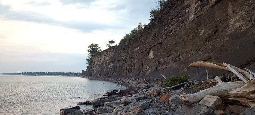 Geology of Eighteen Mile Creek