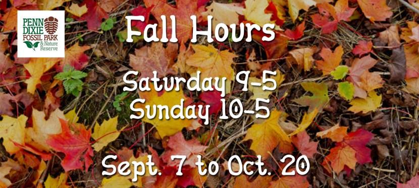 2019 Fall Hours