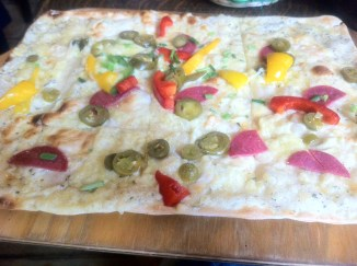Flammkuchen, by Penne Cole