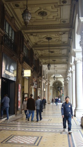 Porticos in Bologna, by Penne Cole