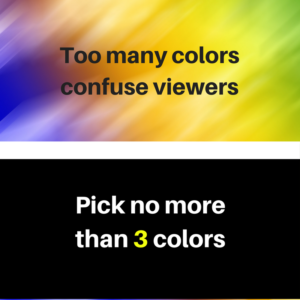 how many colors for a billboard