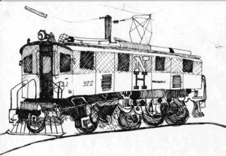 New Haven Electric Locomotives