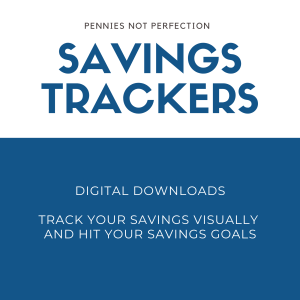 Savings Tracker Printables