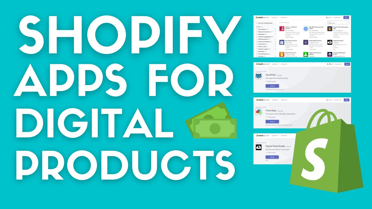 Best Shopify Apps For Selling Digital Products In 2021