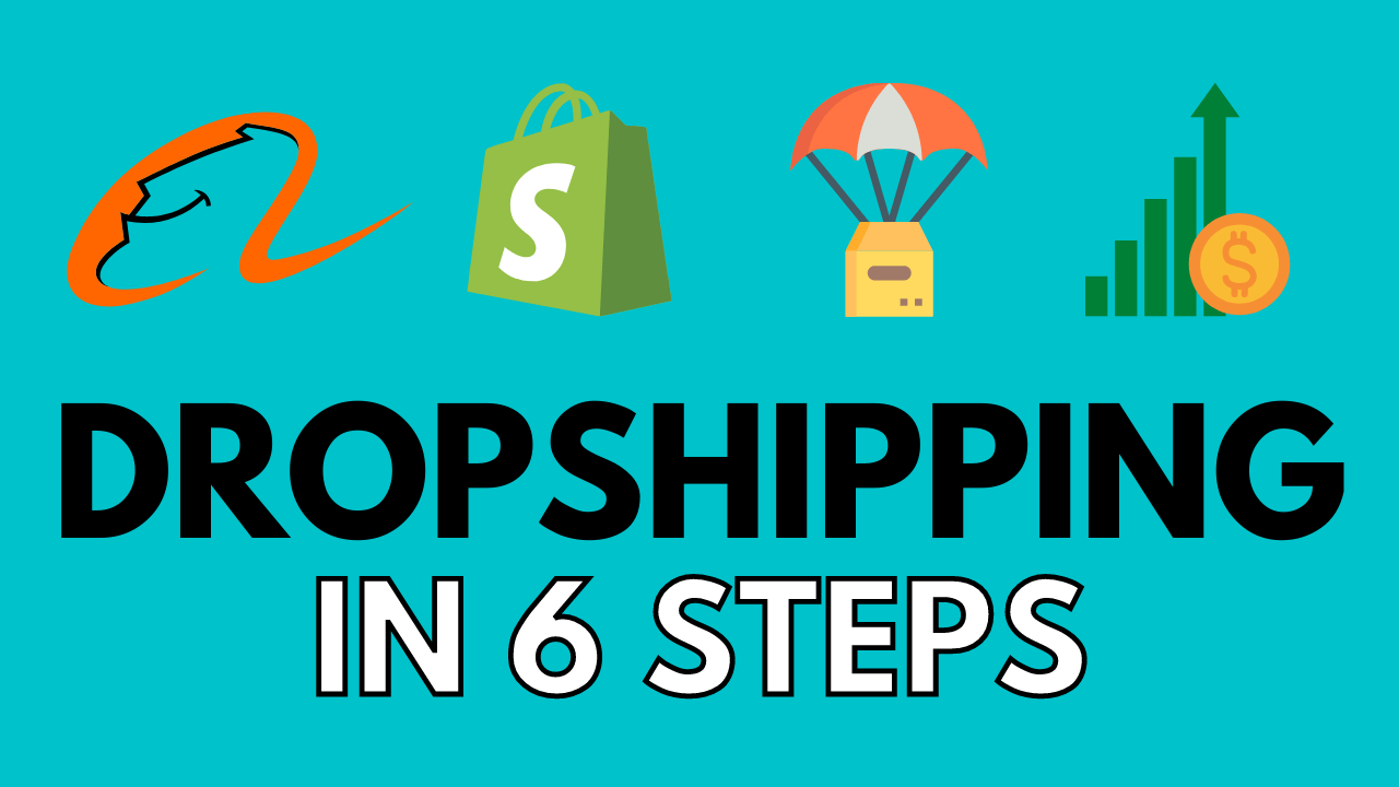 How To Create A Dropshipping Business (6 STEPS) | Dropshipping Explained For Beginners