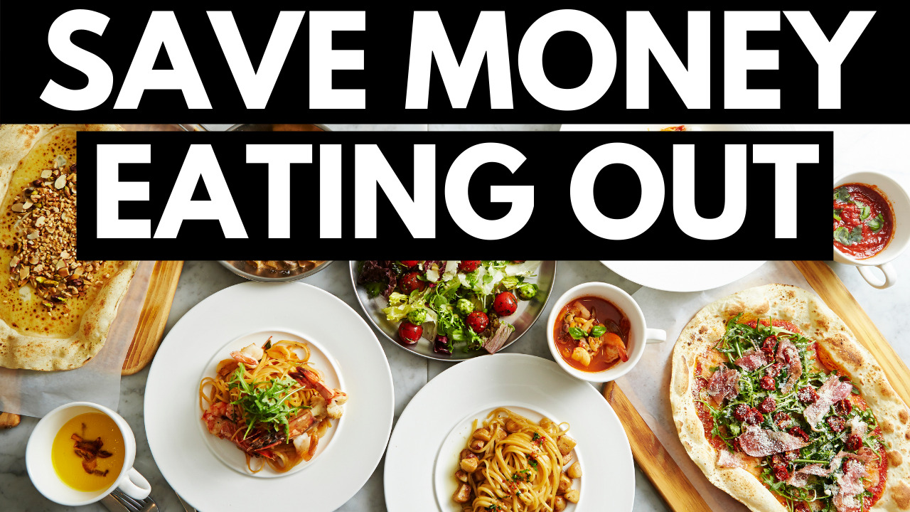 13 Tips To Save Money Eating At Restaurants