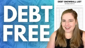 im debt free after paying off my student loans