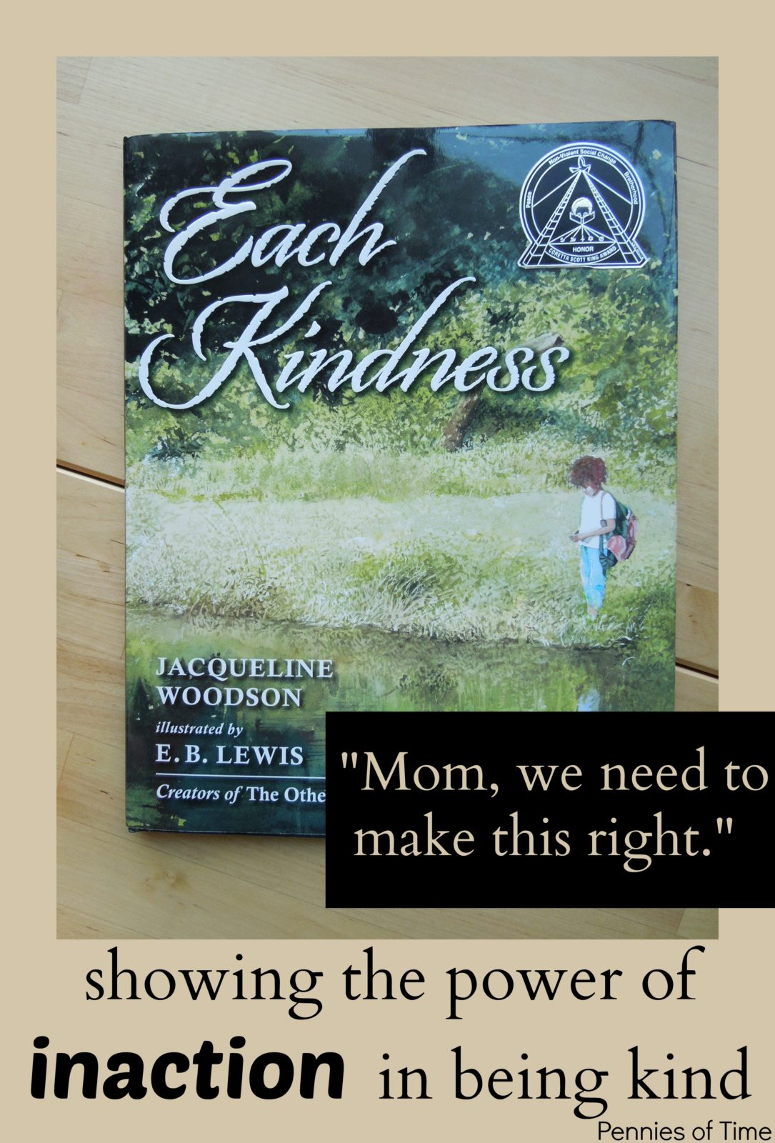 Children S Book On Kindness Each Kindness