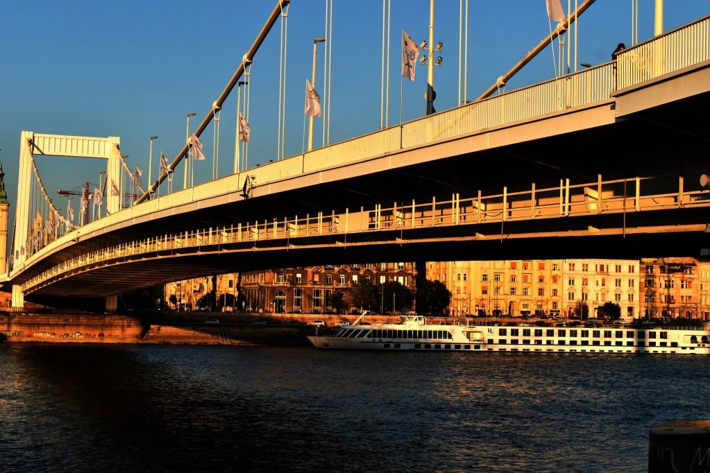Elisabeth Bridge, Budapest, Hungary, 2018
