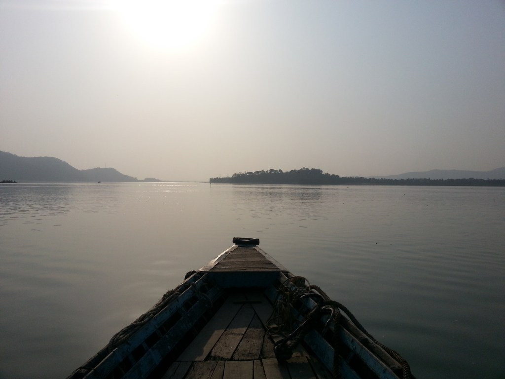 Loktak Lake, Manipur, India, 2014