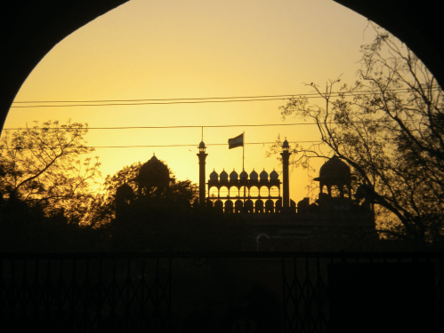 Red Fort, New Delhi, India, 2010