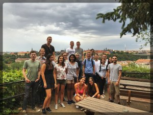 Outing to Vysherad Hill European Summer School Prague