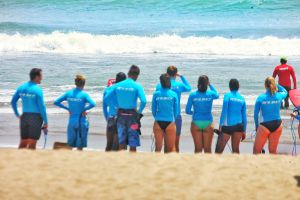 Surfing lesson with Pro Surf Bali Camp