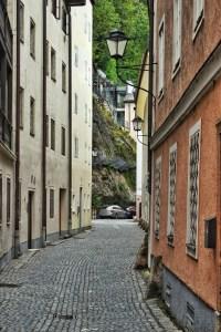 Tiny hidden streets of Salzburg, Austria