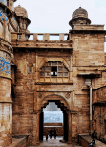 Hathi Pol that is the main entrance to the Gwalior Fort