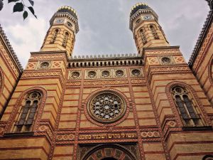 Dohany Street Synagogue in Budapest, Hungary