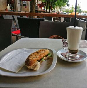 Socks Coffee in Budapest, Hungary