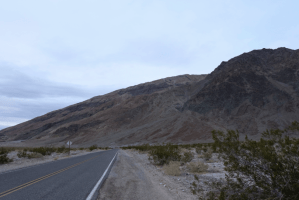 View of Mountains and road