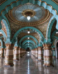 Mysore Palace Public hall