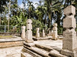Mandapam at the Sultan Bathery Jain temple