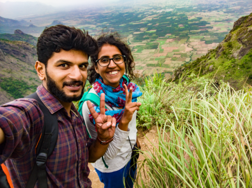 Touring Munnar with a local