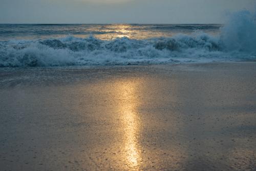 Sunset at Marari Beach