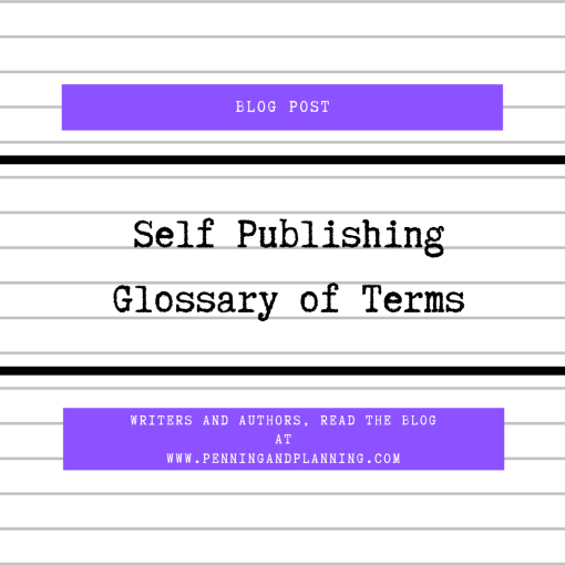 Self Publishing Glossary of Terms