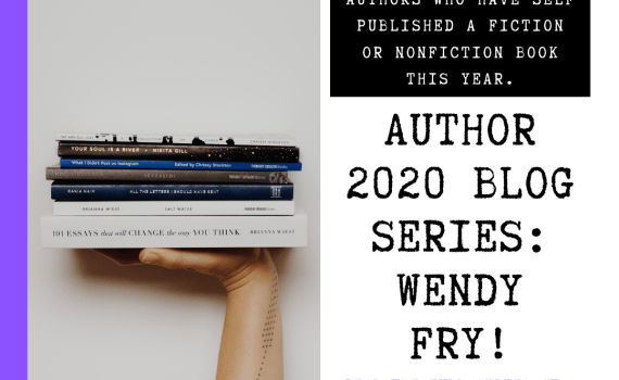 Author 2020 Blog Series: fiction and nonfiction indie authors