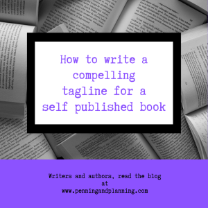 How to write a compelling tag line for a self published book