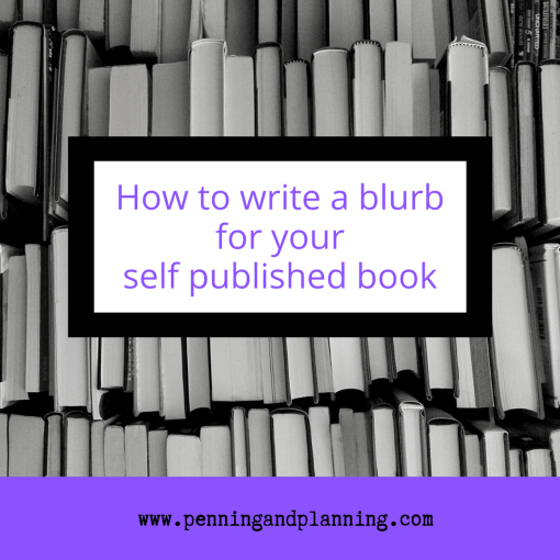 How to write a blurb for your self published book