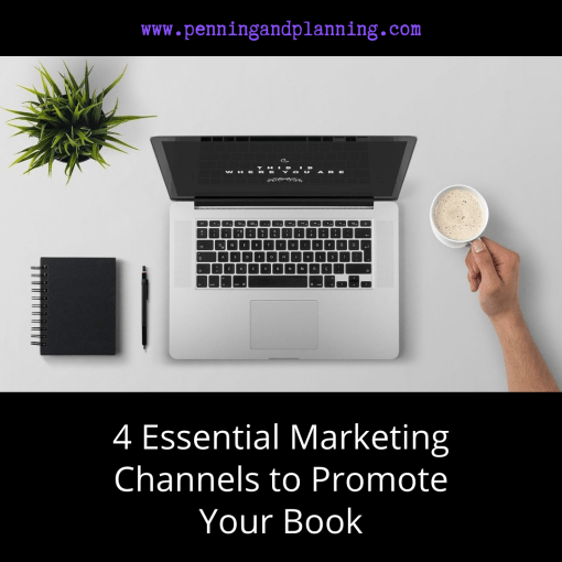 4 Essential Marketing Channels to Promote Your Book