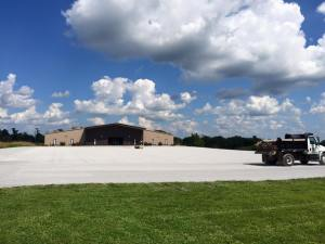 New parking area installation for a Southern Illinois Church | Penninger Residential & Commercial Asphalt Paving