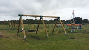 New playground on Pennington Common