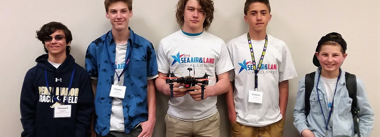 Grant helps power students to first place finish in drone design challenge