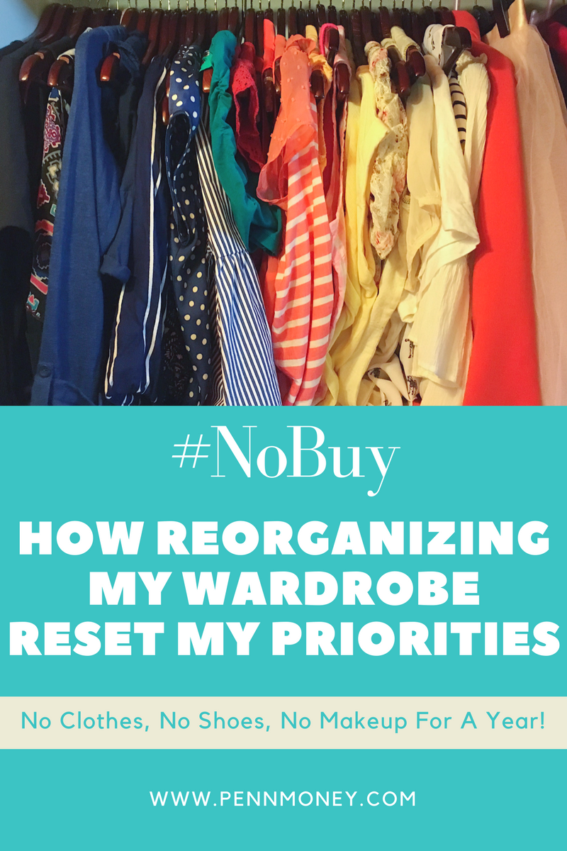 no buy, stop buying fast fashion, reorganize wardrobe