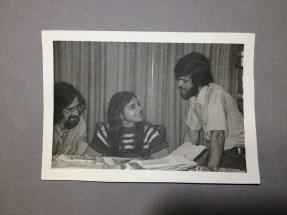 Richard Siegel, Sharon Strassfeld, and Michael Strassfeld, editors of The Jewish Catalog