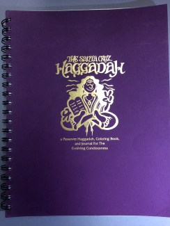 Karen G.R. Roekard, The Santa Cruz Haggadah: a Passover Haggadah, coloring book, and journal for the evolving consciousness, 1991