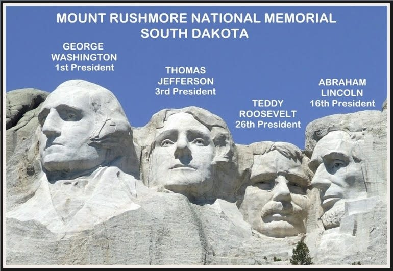 MOUNT RUSHMORE NATIONAL MEMORIAL - WHY THESE FOUR PRESIDENTS   Pen-N-Sword  II