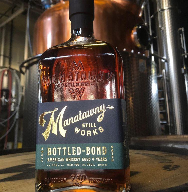 Manatawny Still Works - Bottled in Bond Whiskey