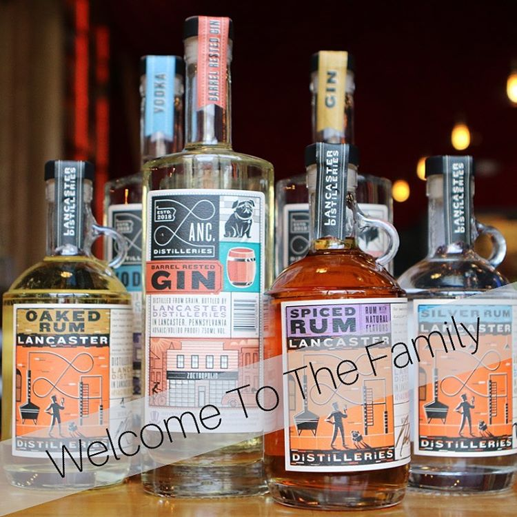 Lancaster Distilleries Product Line