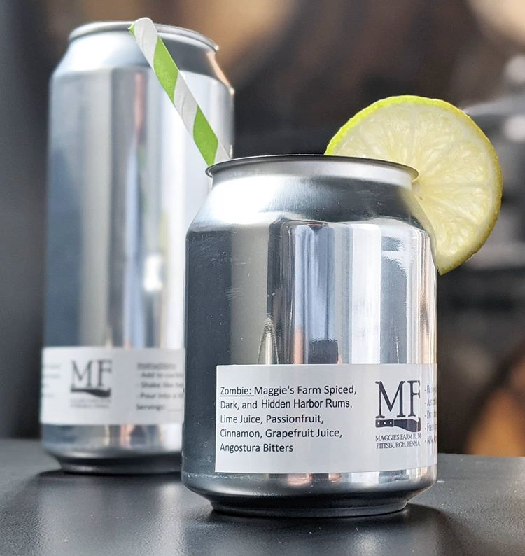 Maggie's Farm Rum Cocktails in Cans